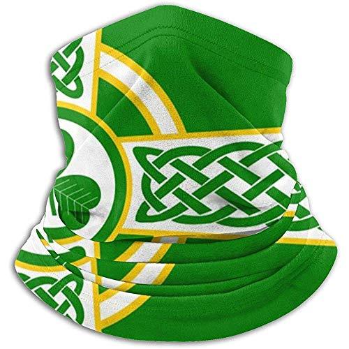 Bandanas unisex con bandera de cruz celta irlandesa para la cara Ma-sk multifuncional, bufanda, polaina para el cuello, pasamontañas para deportes al aire libre