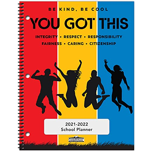 2021-2022 Middle/High School Student Planner - 8.5
