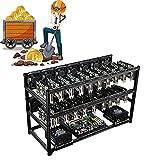 HRTX 16 Gpu Mining Frame, BTC Mining Frame, Geeignet Für Alle Großen Motherboards Und Netzteile,...