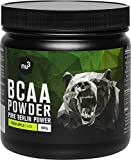 nu3 BCAA Vegan en poudre 400g Pomme - Acides aminés pendant l'effort sportif et pour la récupération - Apport d'énergie optimal pour les muscles et les athlètes - Réduit les courbatures