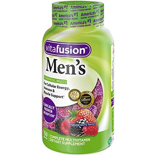Vitafusion Men's Gummy Vitamins, 150 Count Multivitamin for Men
