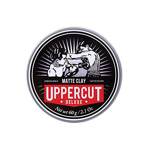 Uppercut Deluxe Matte Clay Hair Pomade, 2.1 Ounces