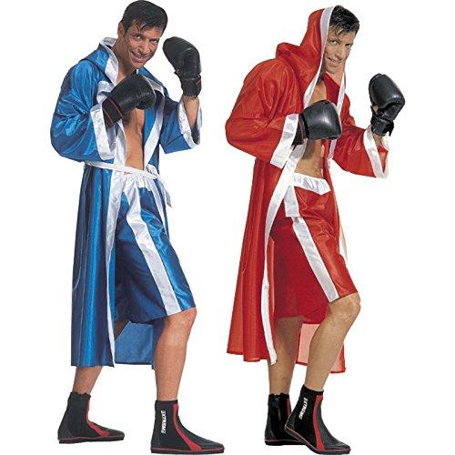 Disfraz rojo de boxeador para hombre, colores surtidos