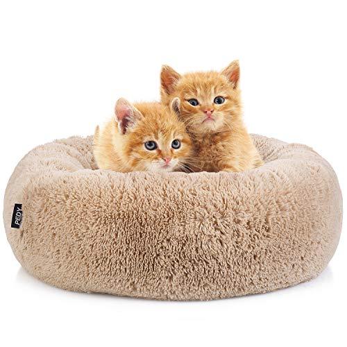 Pedy Lovely Animal Bed Hondenmand Hondenmand Hondenbank Kat Sofa Kussen - Fluffy, Soft &. Wasbaar voor katten en kleine middelgrote honden