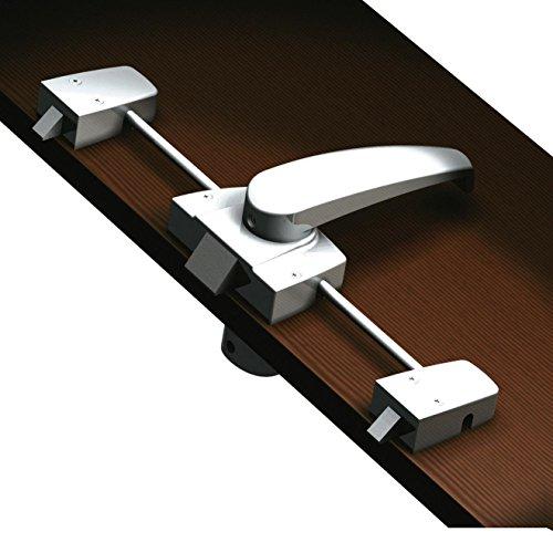 Preisvergleich Produktbild Fawo Möbel- und Toilettenraumschloss 3-Punkt-Verriegelung Schloss Rosette Klinke Türschloss Caravan