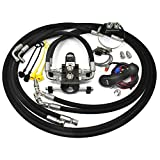 Hydraulic Electric Diverter Valve Kit for John Deere 1025E, 1026R, 1025R, 2025R, and 2026R Tractor Models with 120R Loaders