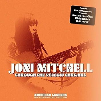 JONI MITCHELL - THROUGH YELLOW CURTAINS