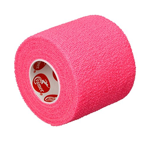 Cramer Eco-Flex Self-Stick Stretch Tape, Cohesive Tape, Flexible Elastic Sports Tape, Athletic Training Room Supplies, Easy Tear & Self-Adherent Bandage Wrap, Single 5 Yard Roll, Compression Tape