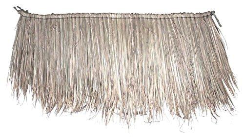 10 Stück Palmendach 150 x 60 cm Palm Paneel Naturdach Palmengras Strohdach Schindel Reetdach