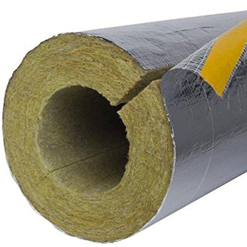 12m Rohrschale Alu 30mm x 28mm Heizungs Rohr Dämmung Isolierung Isolation Schale