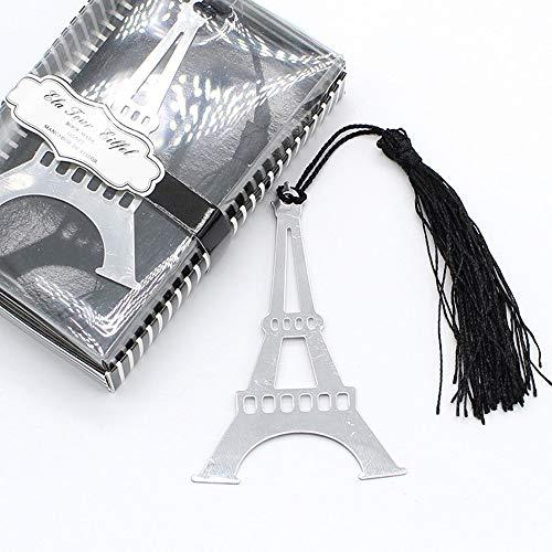 C.X.Y. Segnalibro Matrimonio Regalo Evento Tema Torre Eiffel in Metallo bomboniere