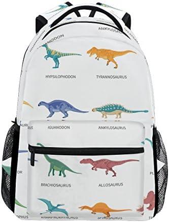 School Backpack Dinosaurs Colored Bookbag for Boys Girls Travel Bag product image