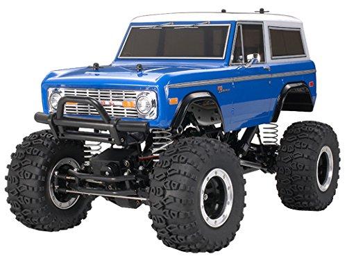 Tamiya 300058436 - Ford Bronco 1973, Fuoristrada radiocomandato in Scala 1:10, Confezione con modellino e Motore Elettrico