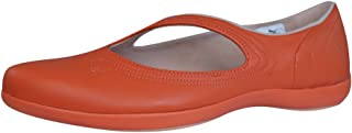 PUMA Vitta L Womens Leather Ballet Pumps/Shoes - Red Coral
