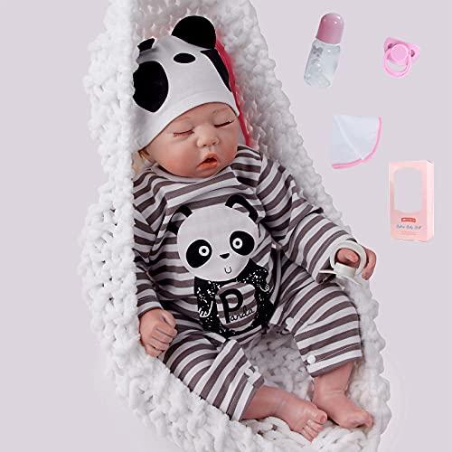 ZIYIUI 20 Pulgadas 50 cm Durmiendo Reborn Baby Doll...