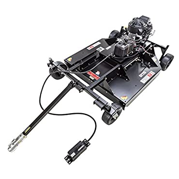 Swisher RC14552CPKA 14.5HP 12V Kawasaki 52 Commercial Pro Rough Cut trailcutter, Black