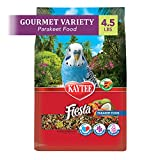 Kaytee Fiesta Parakeet Food, 4.5 Pounds