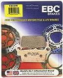 EBC Brakes FA131R Disc Brake Pad Set, red, One Size