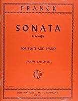フランク: バイオリン・ソナタ/ランパル編/インターナショナル・ミュージック社/ピアノ伴奏付フルート・ソロ用編曲