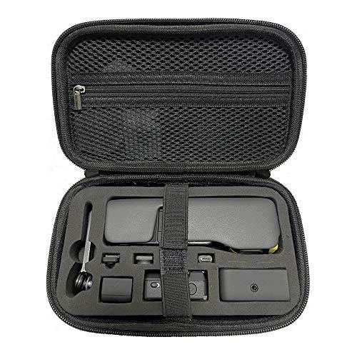 Penivo Osmo Pocket 2 Hülle,Tragbar Tragetasche für DJI Osmo Pocket 2 Taschen Wasserfestes Gehäuse Kamera Reise Transportkoffer Schutz Filter Andere Zubehör