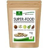 MoriVeda® Superfood Compresse 1000mg   Miscela Moringa + Ashwagandha + Triphala   Fornitore di nutrienti fino a 2 mesi   120 compresse