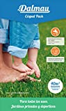 SEMILLAS DALMAU Semillas de Césped Resistentes, Mezcla Pack, Semillas para Jardines y Zonas Deportivas, Mantenimiento Medio y Consumo de Agua Medio, 1kg
