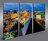 islandburner Bild Bilder auf Leinwand Las Vegas V4 Luxor 3p