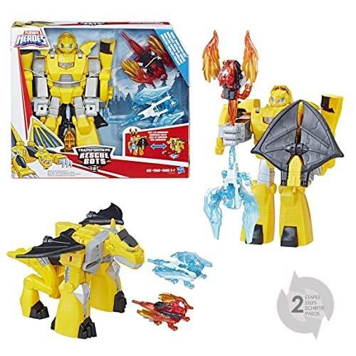 Hasbro Transformers - Knight Watch Bumblebee (Playskool Heroes), C1122EU4