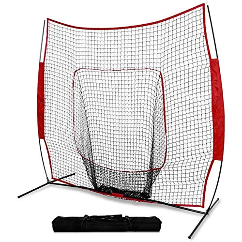 DOLA 7 * 7Ft Baseball Training Net for Hitting And Pitching - Portable...