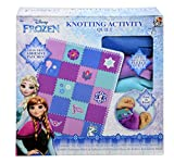 Innovation Designs Disney Frozen Knotting Activity Quilt, Blue, Pink, Purple, White, One_Size (SG_B077MTLMLC_US)