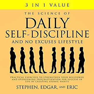 The Science of Daily Self-Discipline and No Excuses Lifestyle cover art