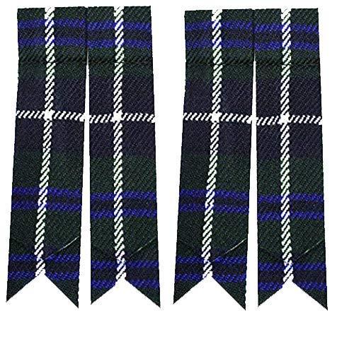 Mens Kilt slang sok knippert met kousenband trots van Schotland Tartan wees