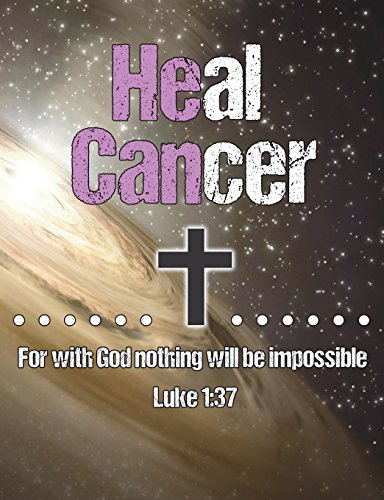 """He Can Heal Cancer: For With God Nothing Will Be Impossible Luke 1:37 Bible Verse - 100 Page Christian Composition Notebook College Ruled - Support ... For Breast Cancer Journal - 7.44"""" x 9.69"""""""