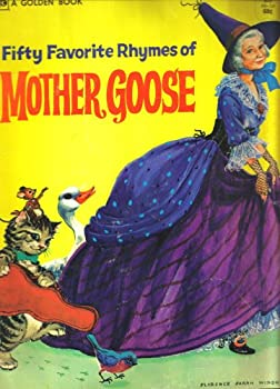 Library Binding Fifty Favorite Rhymes of Mother Goose Book