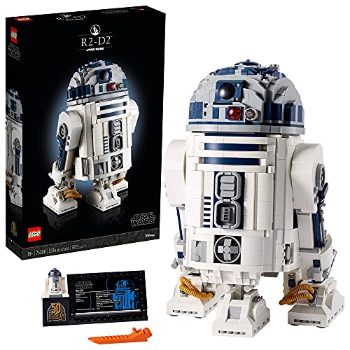 LEGO Star Wars R2-D2 75308 Collectible Building Toy, New 2021 (2,314 Pieces)