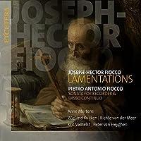 Joseph-Hector Fiocco: Lamentations/... by Mertens