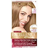 L'Oreal Paris Excellence Creme Haircolor, Dark Golden Blonde [7G] (Warmer) 1 ea (Pack of 2)