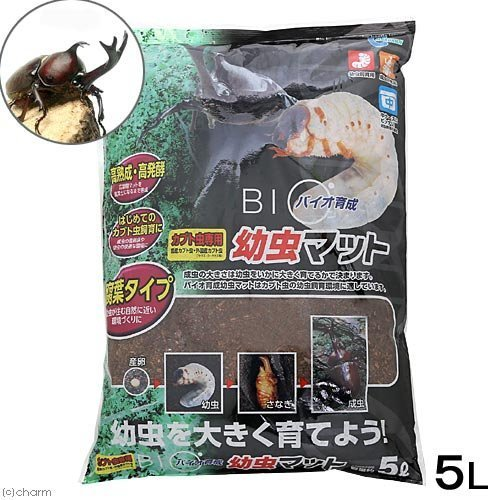 マルカン『バイオ育成幼虫マット 5L(M-704)』