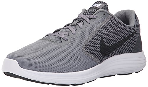Nike Herren Revolution 3 Laufschuhe, Grau (Cool Grey/Black-White 002), 44 EU / 9 UK