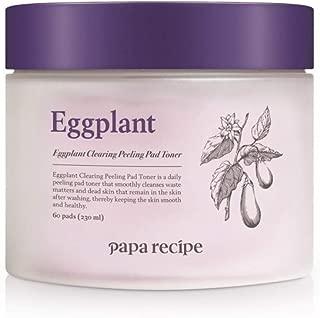 [Papa Recipe] PAPA RECIPE Eggplant Clearing Peeling Pad Toner 230ml 60 Sheets, Renewal Version/sensitve skin, remove dead skin cell, peeling, calming skin