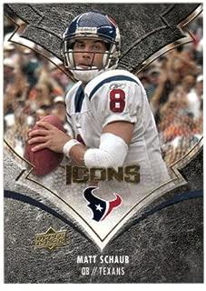 Matt Schaub (Football Card) 2008 Upper Deck Icons # 40