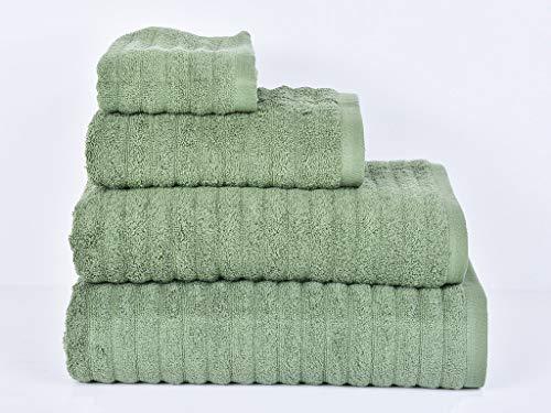 MI CASA Verde Toalla Pool Ducha 500GR, 100% Algodón, 70X130