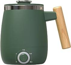 LWZ Draagbare gezondheid beker, multifunctionele mok, mode elektrische warm water cup, temperatuurregeling kettleGreen