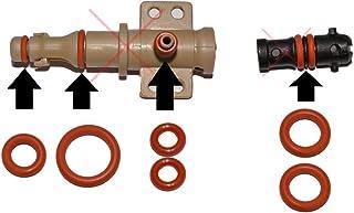 SW-K - Juego de mantenimiento de juntas para válvulas de soporte y válvulas de salida, adecuadas para cafetera Saeco Phili...
