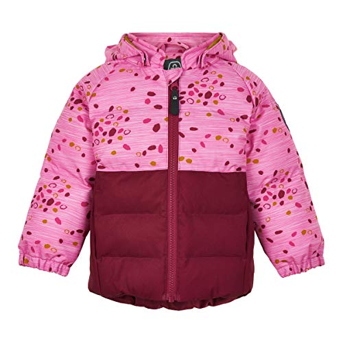 Color Kids Baby-Mädchen Jacket with Print Thermojacke, Beet Red, 92