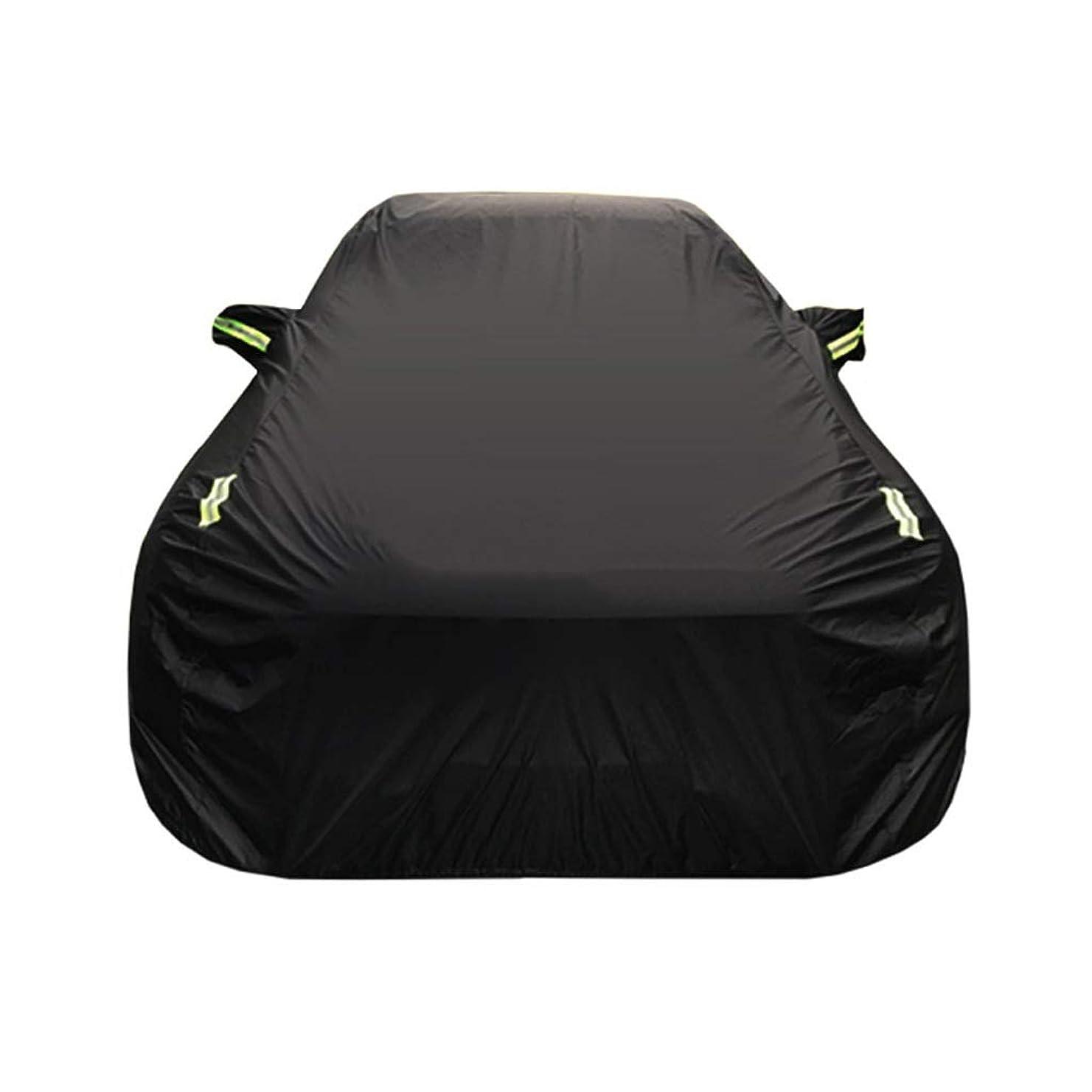 パネルチェスをする探す車のカバー アウディRS3特別な車のカバー車の服厚いオックスフォード布日焼け止めレインカバー車の布カーカバー (Size : Oxford cloth - built-in lint)