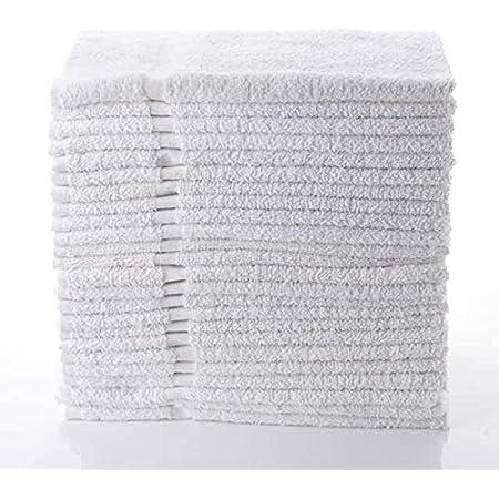 "Simpli-Magic 79251 White Hand Towels, 16""x27"", 12 Pack"