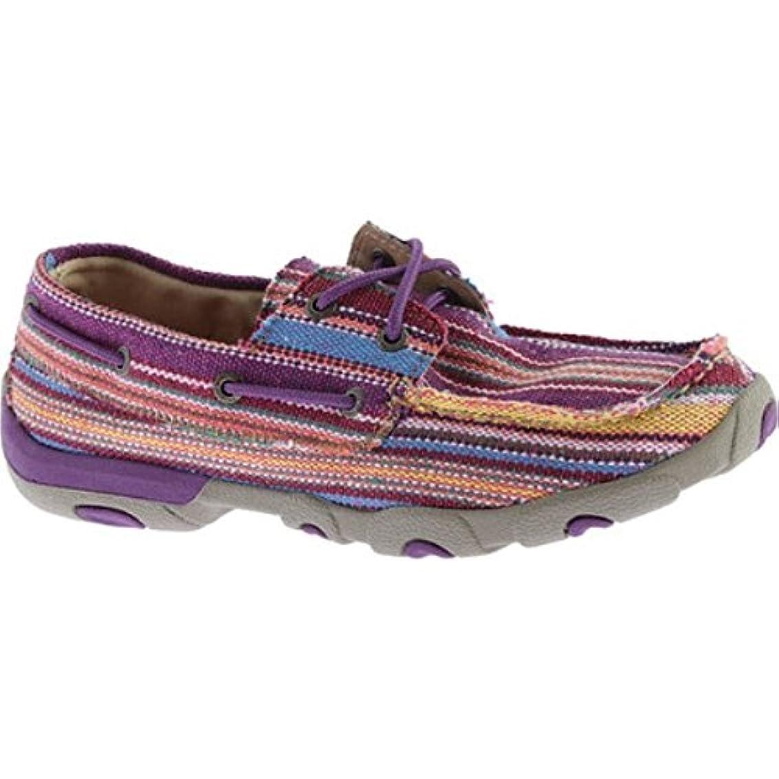 メイドアスリートインストール(ツイステッド エックス ブーツ) Twisted X Boots レディース シューズ?靴 スリッポン?フラット WDM0047 Boat Shoe [並行輸入品]