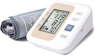 Life HS Armsphygmomanometer Superior, Inglés Voz Broadcast Máquina De Presión Arterial para El Hogar Y El Uso De Viaje, con Pantalla LED 2-Usuario con Capacidad De Memoria 99,Amarillo