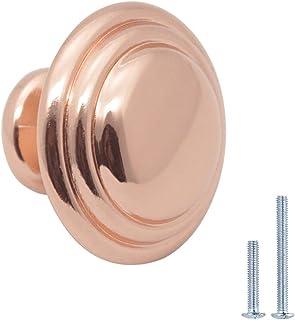 Handmade hammer beat copper Knobs for Cabinet Dresser knobs Drawers nobs poign\u00e9es boutons en m\u00e9tal cabinet pulls Perillas Boutons MCK001